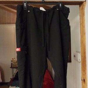 Dickies black scrub pants